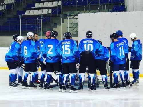 Перед началом матча с командой Раскат